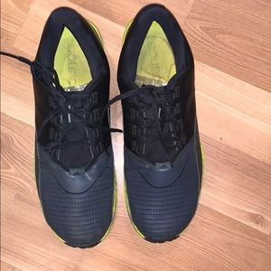 Adidas Bounce running shoes black/gray size 12.5